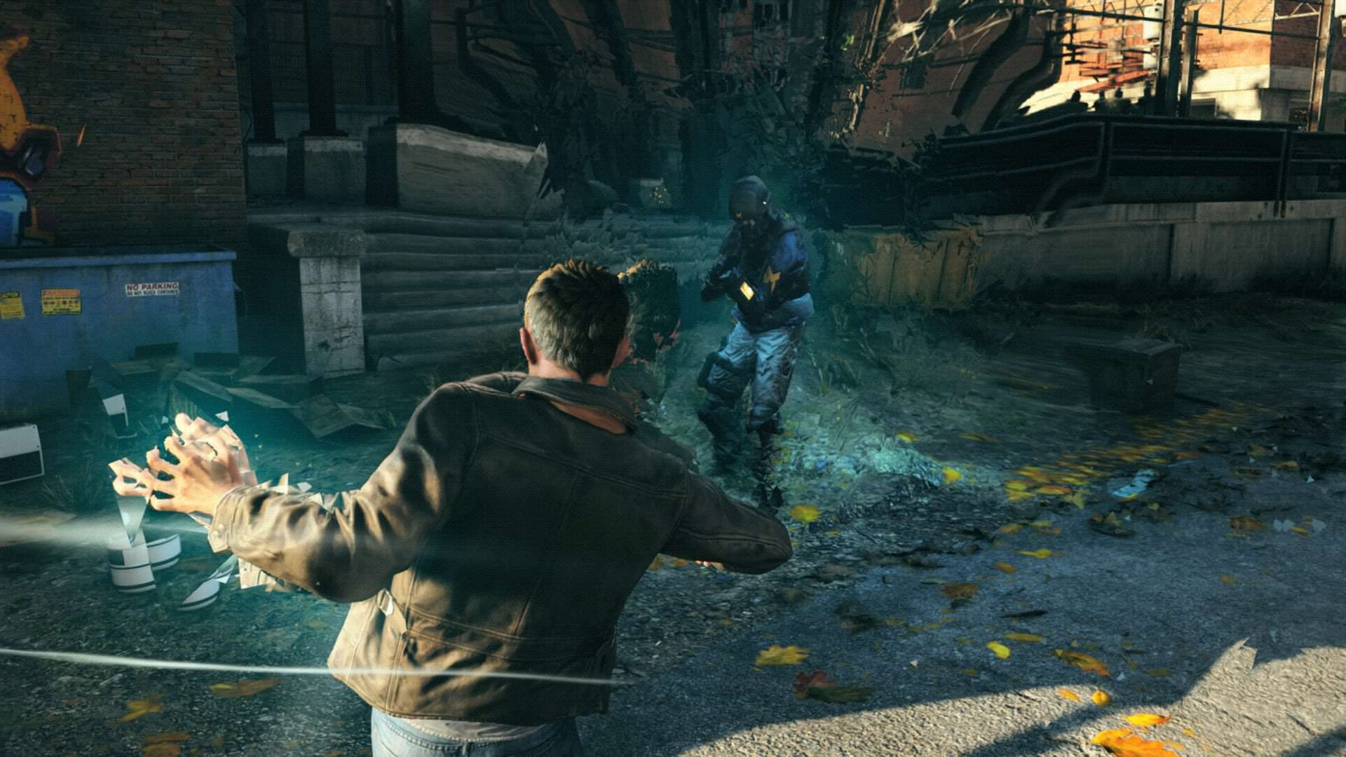 quantum break punch.0 See How Quantum Break Has Changed With This Cool Prototype Footage