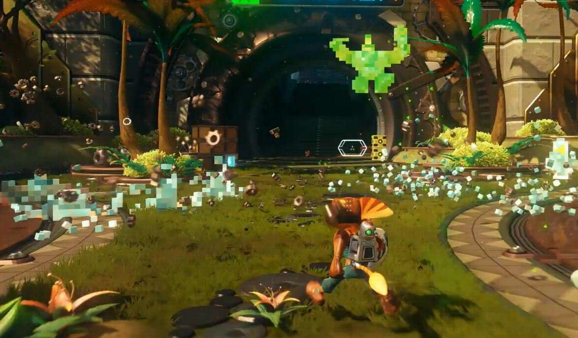ratchet and clank pixel gun Ratchet And Clank Developers Discuss Why They Love The PS4
