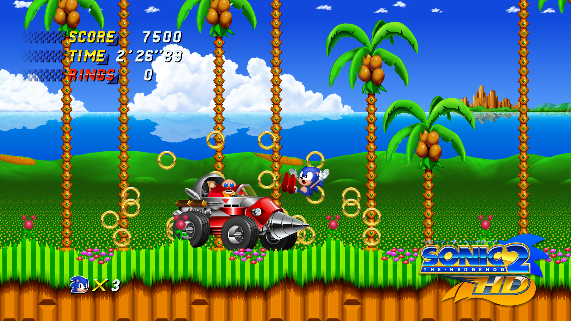 sonic the hedgehog 2 hd screenshot 5f19abc9 Seven Incredible Fan Remakes Of Classic Games