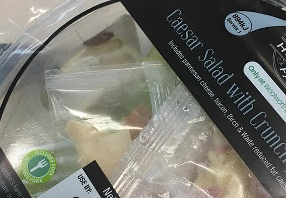 spider salad WEB 2 Unfortunate Woman Finds Whole Load Of NOPE Crawling In Her Woolworths Salad