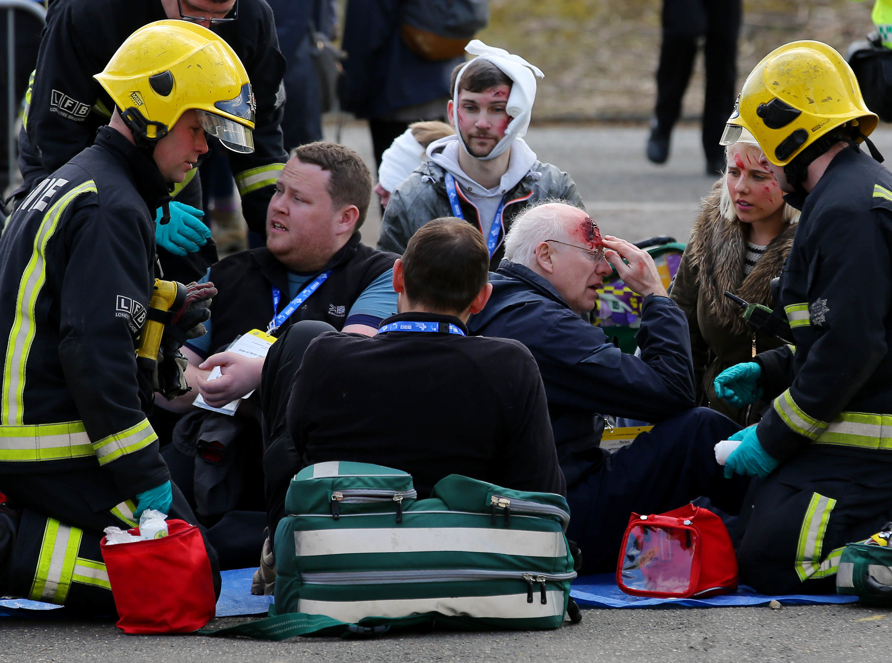 victims 1 Europes Biggest Ever Disaster Simulation Is Truly Terrifying