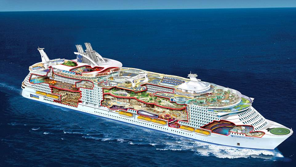 This Cruise Ship Is So Big You Need GPS To Find Your Room 1 3