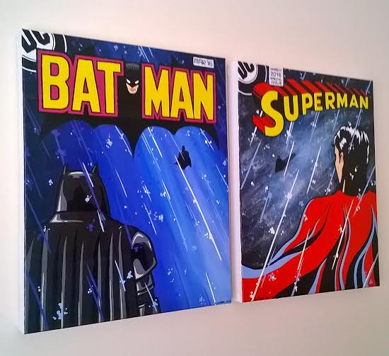 1509f2f2 e3a1 4b45 895d dd3d868d10c7 Heres Your Chance To Win One Of A Kind Hand Drawn Posters From Batman V Superman