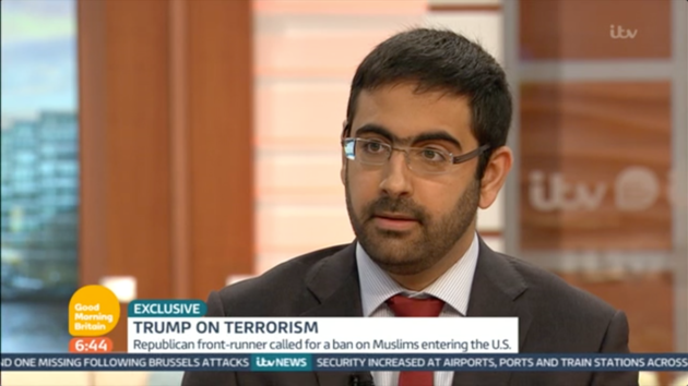 Donald Trump Claims British Muslims Arent Reporting Terror Suspects 56f25af41e0000b30070509f