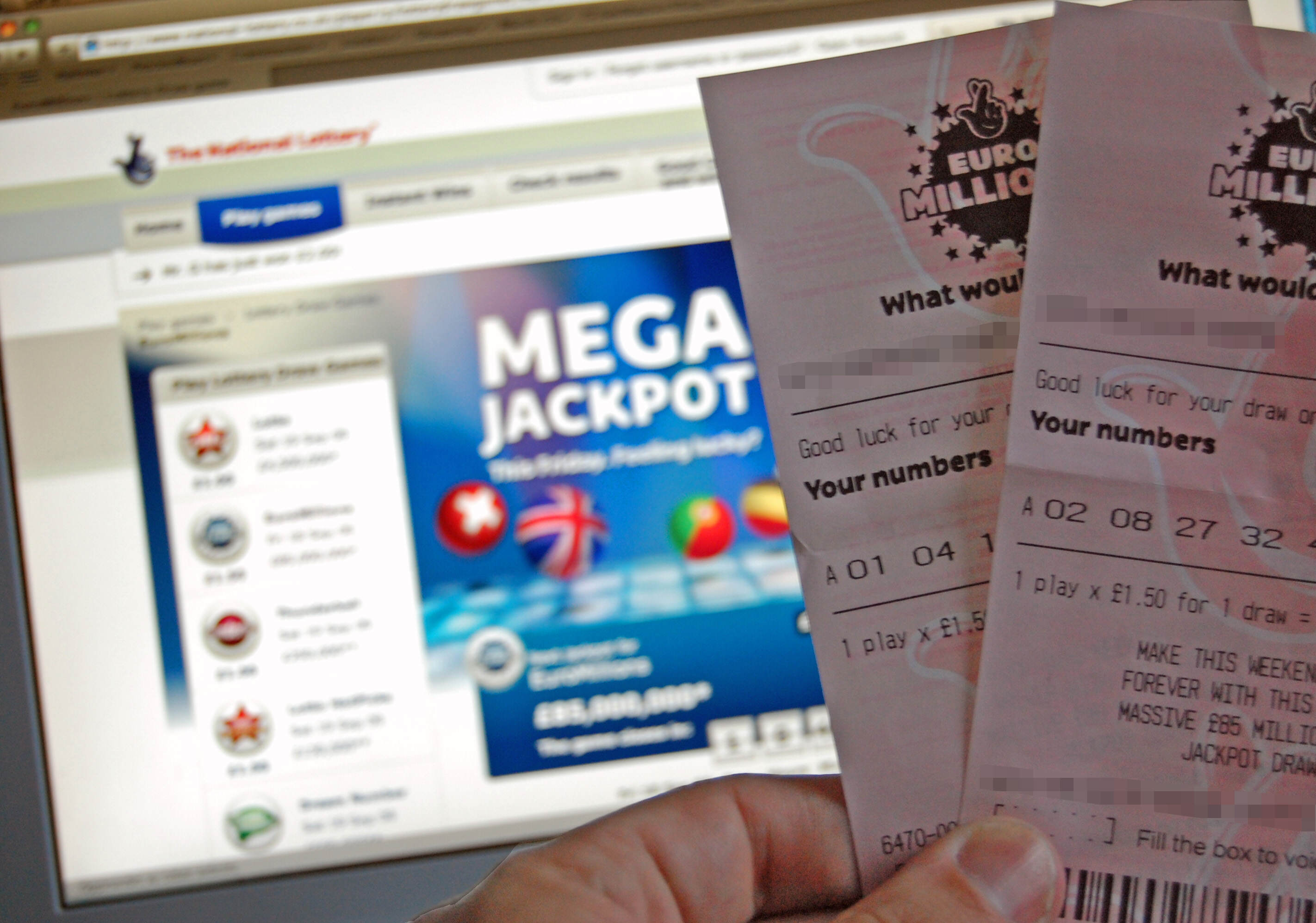 EuroMillions tickets Woman F*cks Up By Not Double Checking Winning Lottery Ticket