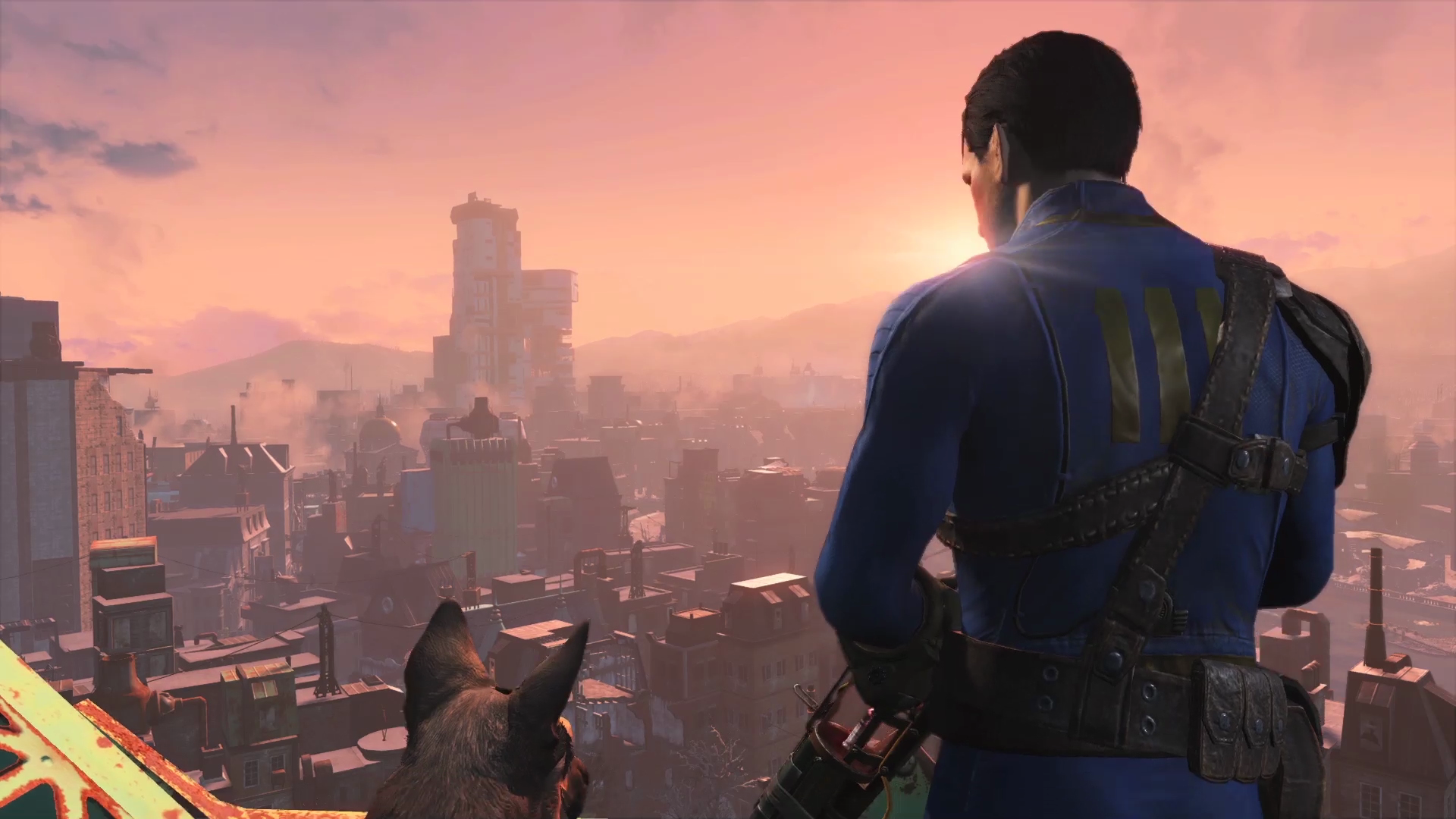 Fallout4 E3 CityVista Fallout 4s Updated Survival Mode Coming Very Soon