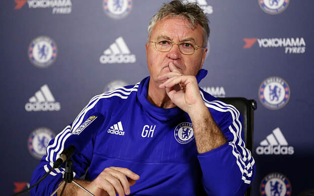 Hiddink Telegrapg Five Reasons Chelsea Can Claim A Champions League Place