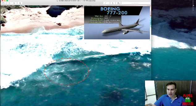 Screen Shot 2016 03 04 at 10.28.32 U.S. Military Vet Claims Hes Found Missing MH370 Plane