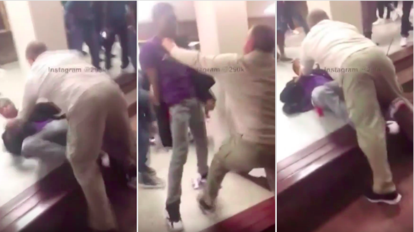 Screen Shot 2016 03 07 at 12.51.03 High School Student Beaten Up By School Safety Coordinator For Filming Fight