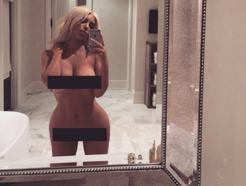 Everyone Is Losing Their Sh*t Over This Mural Of Kim Kardashians Nude Selfie Screen Shot 2016 03 14 at 10.17.03