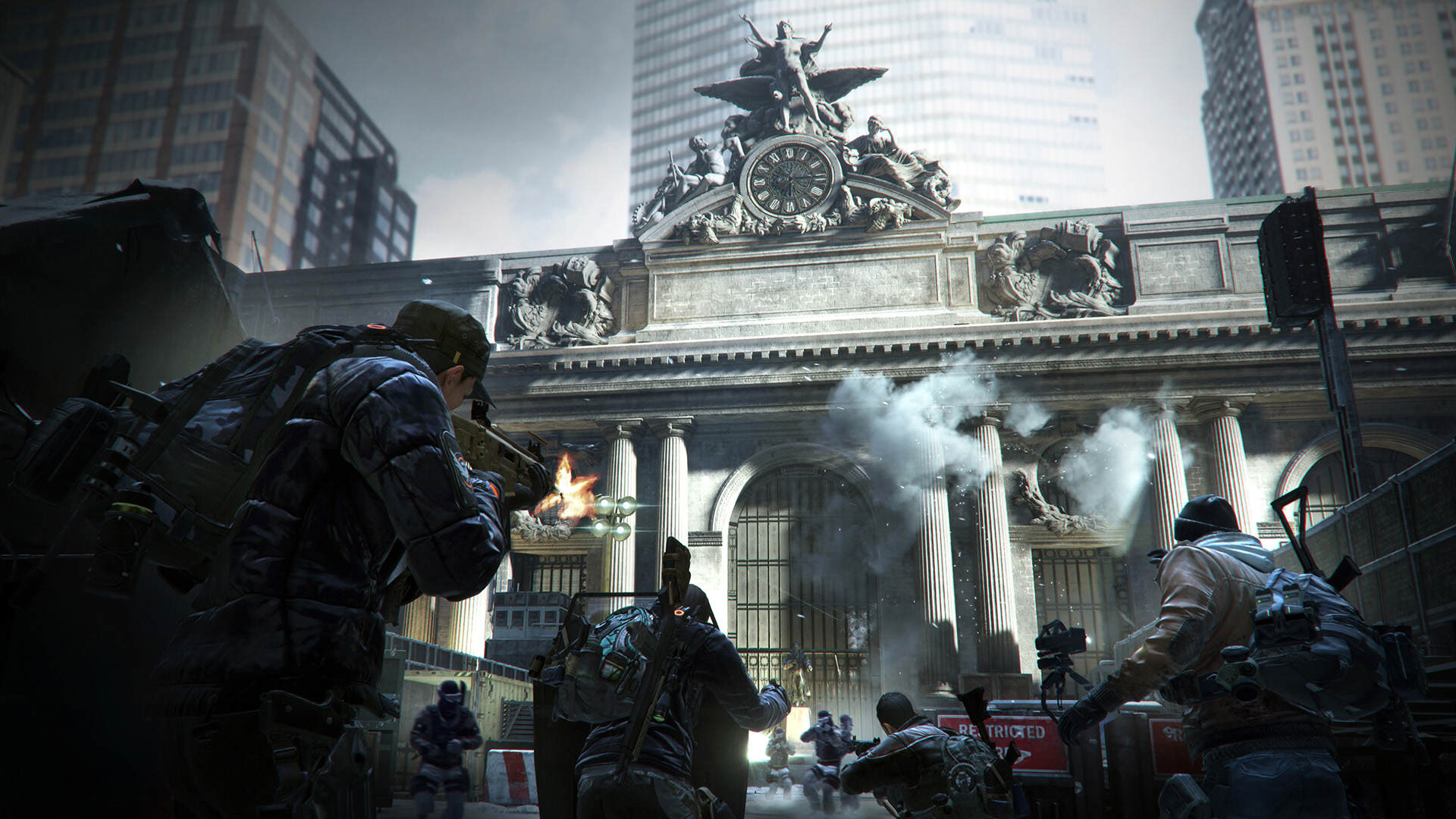 Gorgeous PC Trailer For The Division Shows Off Nvidia Tech TCTD 1601 web screenshot grand central