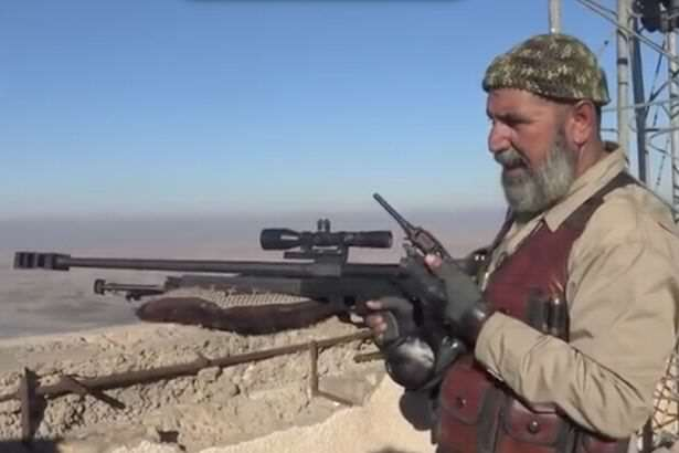 The elderly Iraqi sniper who has killed 173 ISIS fighters Meet The 62 Year Old Sniper Who Has Killed An Insane Amount Of ISIS Fighters