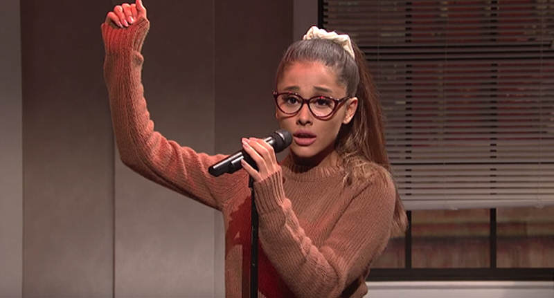 ariana snl FB Ariana Grandes Celebrity Singing Impressions Are Spot On