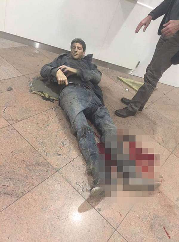 brussels44 BREAKING: UK Government Responds To Terrorist Attacks In Brussels