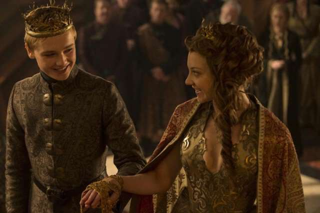 Game Of Thrones Actor Speaks Out About Sex Scene With Natalie Dormer game of thrones tommen margaery wedding hbo 640x426