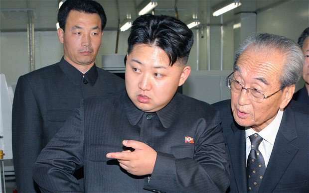 kimjong 1 North Korea Threatens Nuclear Strike Of Justice Against Its Enemies