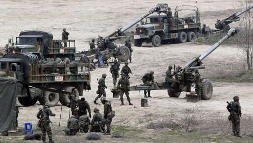 korea1 1 U.S And South Korea To Invade North Korea In Massive War Games