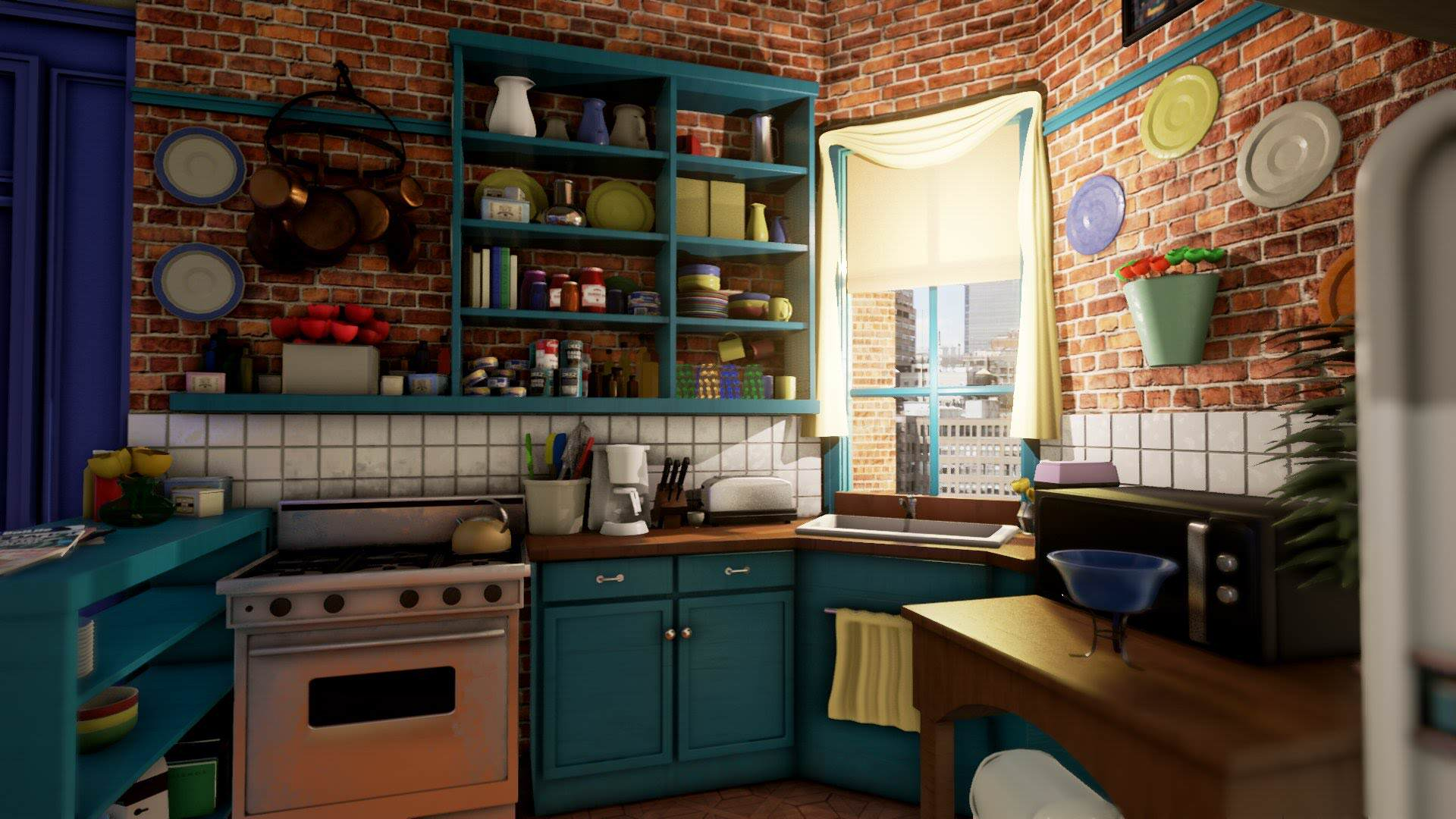 maxresdefault 1 2 Iconic Friends Location Recreated In Unreal Engine 4
