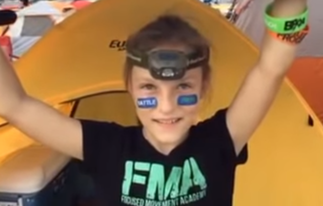milla1 Incredible Nine Year Old Girl Completes 24 Hour Navy SEAL Assault Course
