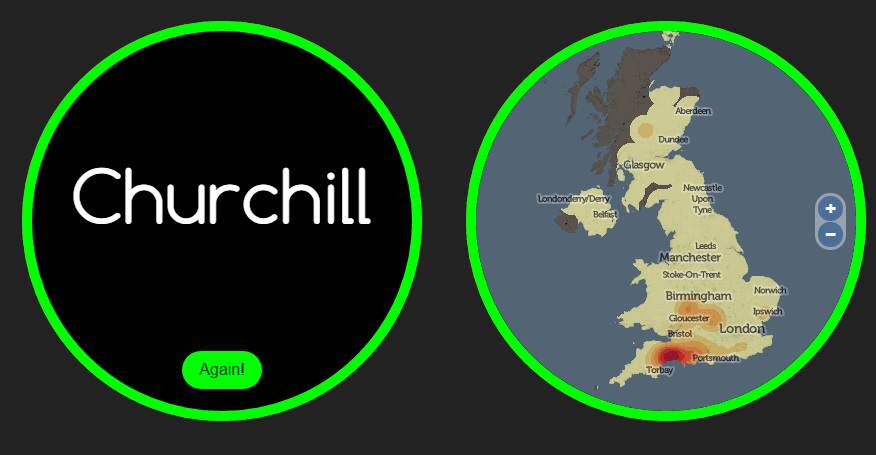 This Website Knows Where Youre From And How You Met Your Partner name churchill 1