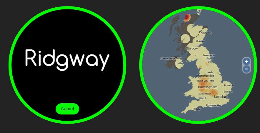 name ridgway 1 This Website Knows Where Youre From And How You Met Your Partner