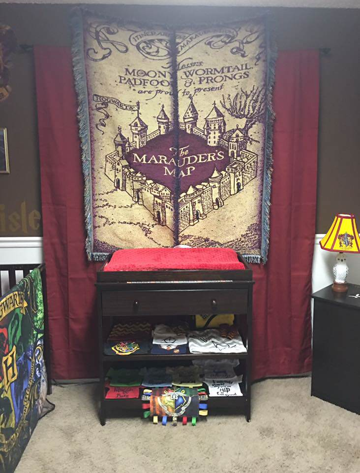 Parents Make Harry Potter Themed Nursery For Their Kid And Its Awesome potter5