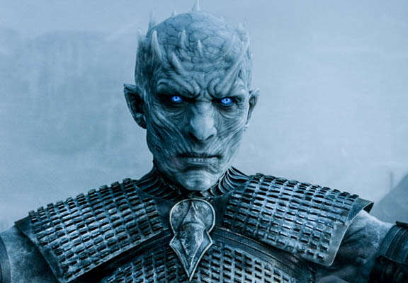 Behind The Scenes Video Shows How Game Of Thrones Brings White Walkers To Life