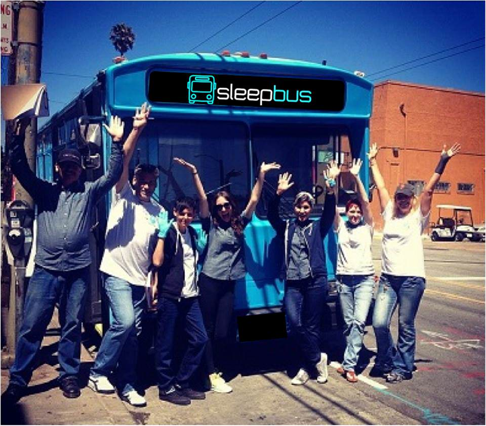 This Incredible Project Helps The Homeless Using Old Buses sleepbus1