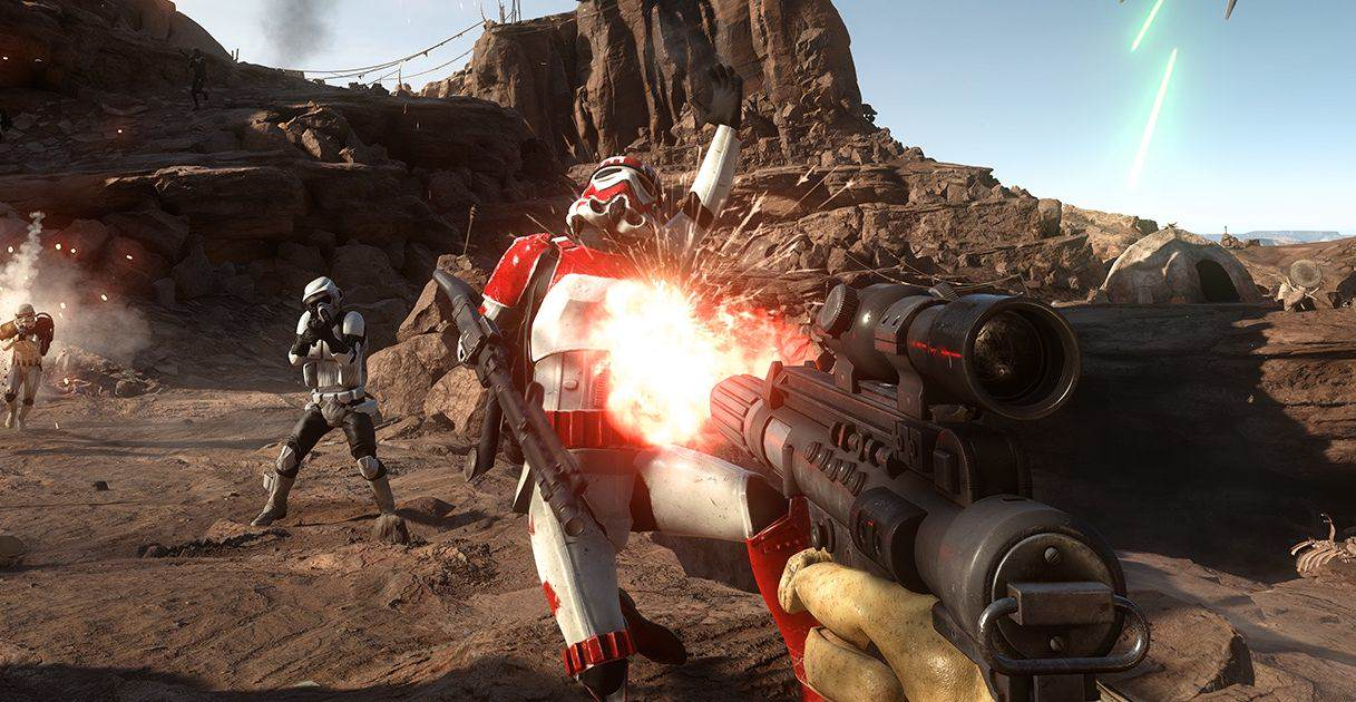 star wars battlefront 1 Star Wars Battlefront Story Mode Requested By Force Awakens Actor