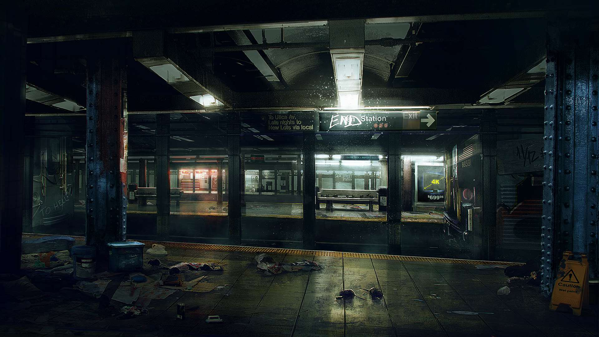 the division underground artwork Ubisoft Outline Post Launch Content For The Division