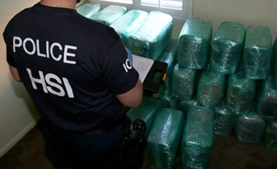 Massive Drug Bust After Tunnel Discovered Under U.S   Mexico Border tunnel1