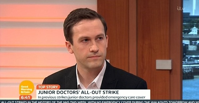 338382FA00000578 0 image a 9 1461567271819 Junior Doctor Drops Huge Bombshell On Live TV