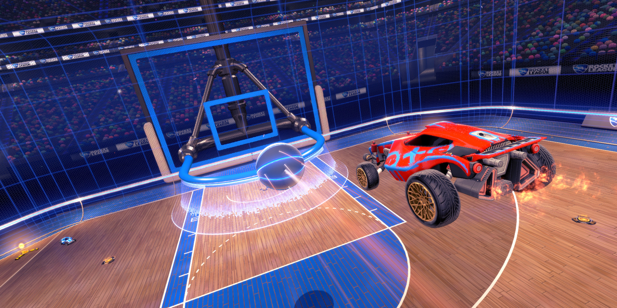 BigHoops Rocket League Devs Show New Basketball In Action