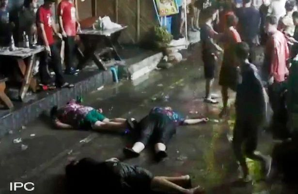 British family brutally assaulted in Hua Hin Thailand 4 British Family Knocked Unconscious By Brutal Gang Attack In Thailand