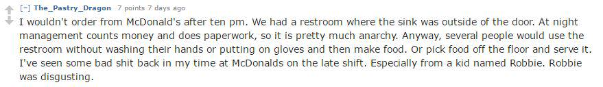 Capture 9 Fast Food Workers Reveal The Things You Definitely Shouldnt Order