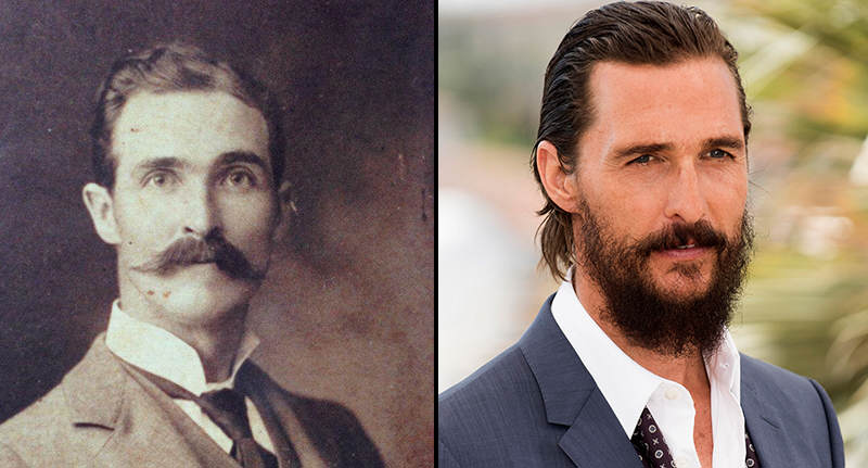 Old Photo Could Prove Matthew McConaughey Is Time Travelling Wizard FaceThumb mcon