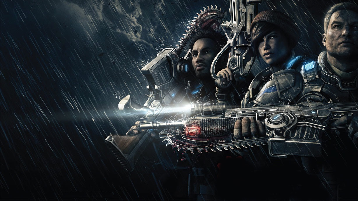 Gears of War 4 2 New Gears Of War 4 Footage Shows Off Brutal Knife Kill