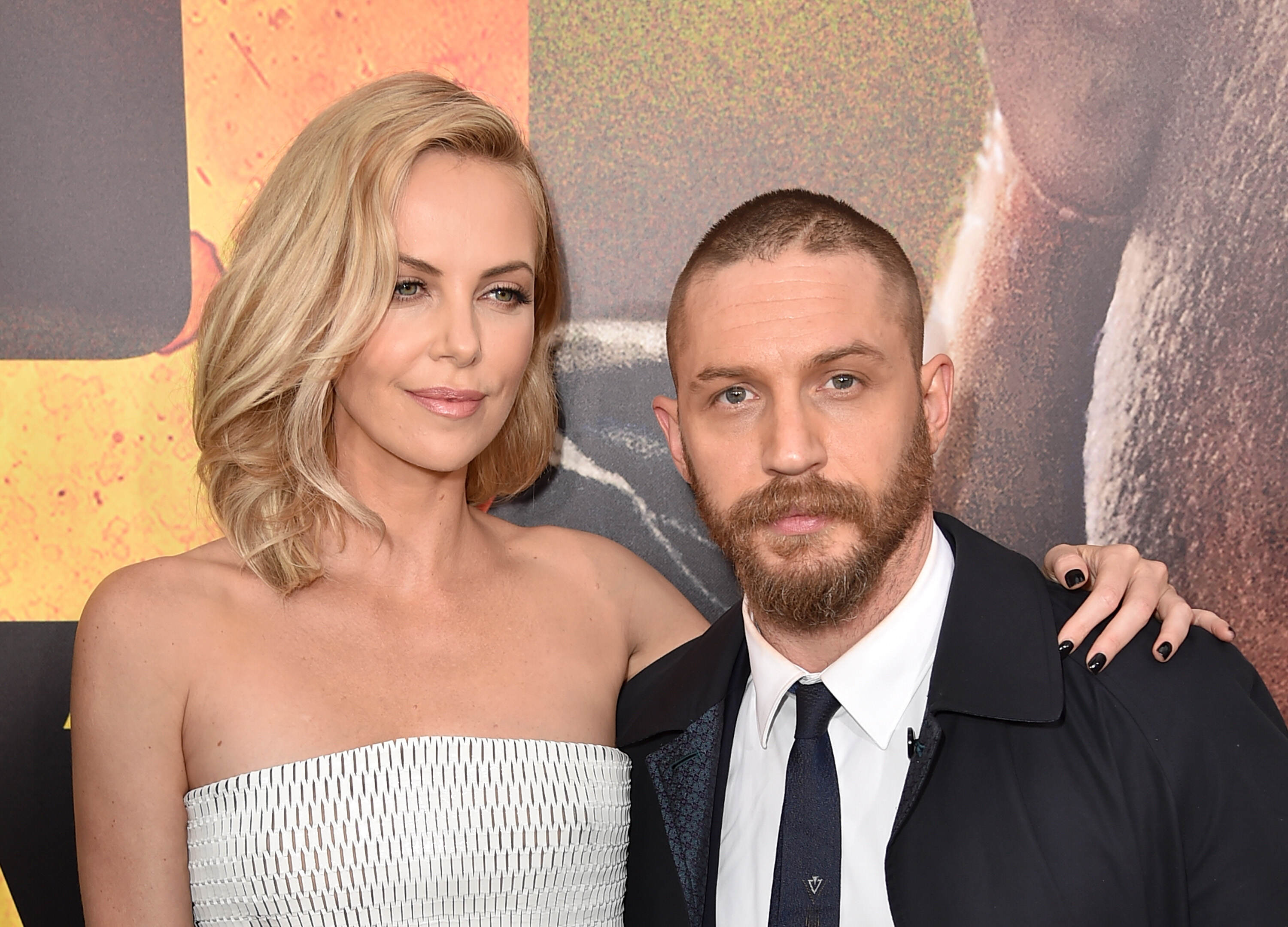 GettyImages 472519916 Charlize Theron Says She Didnt Get Along With Tom Hardy While Filming Mad Max