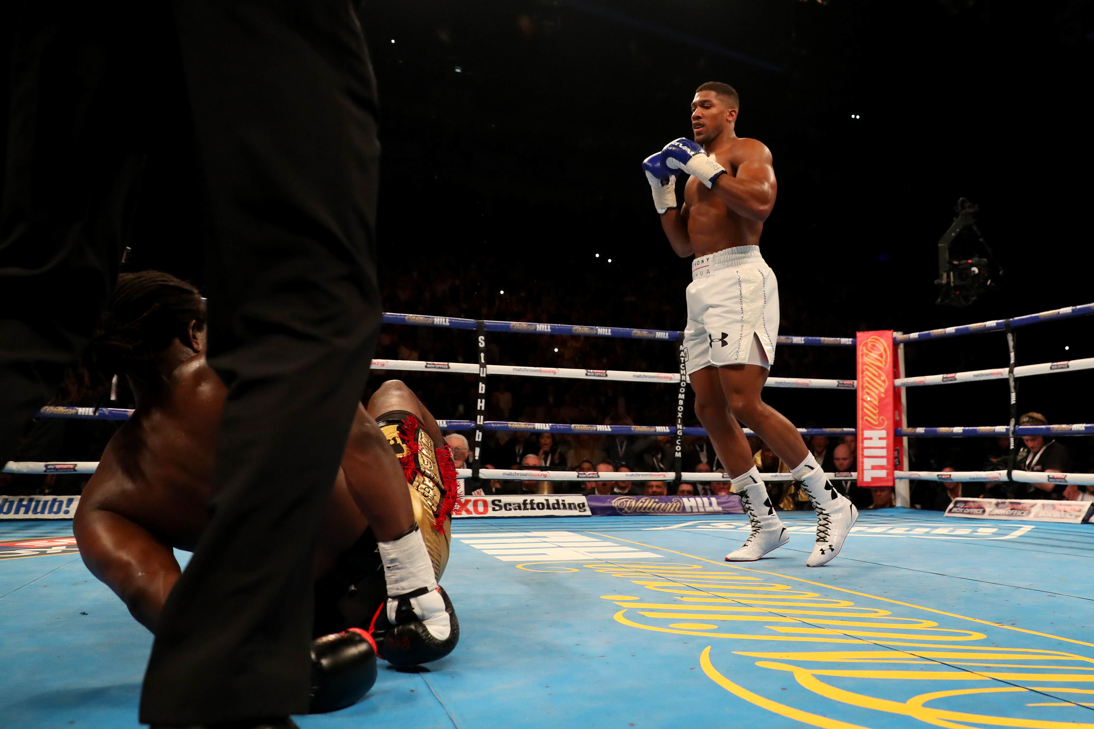 GettyImages 520144846 Anthony Joshua Targets Tyson Fury Fight After Winning IBF Title