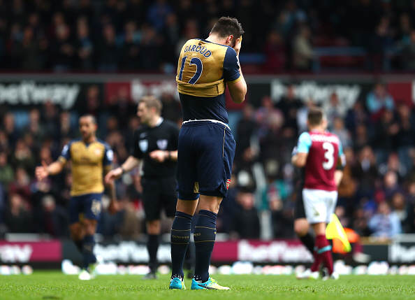 Five Things The Premier League Taught Us This Weekend Giroud sad getty