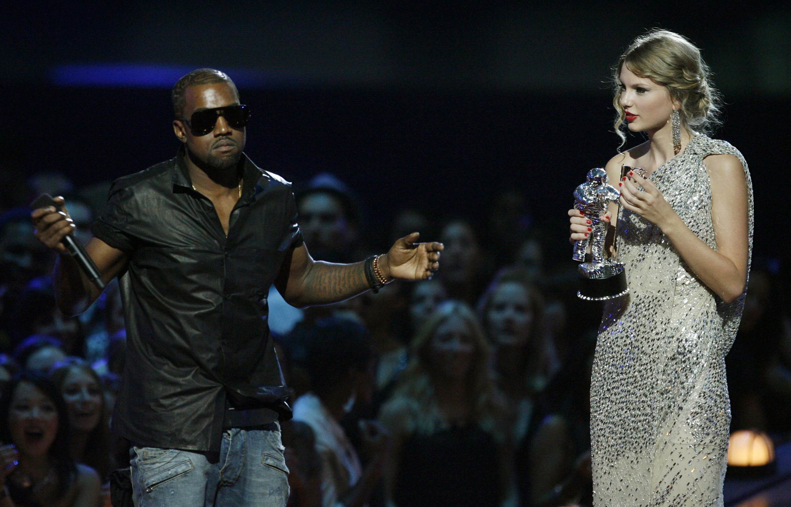 PA 7805434 Kanye West Is Speaking Out About Taylor Swift Again