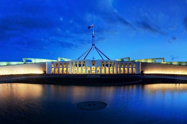 Parliament House Canberra Dusk Panorama 640x426 Kid, 12, Becomes Australian PM For Two Days