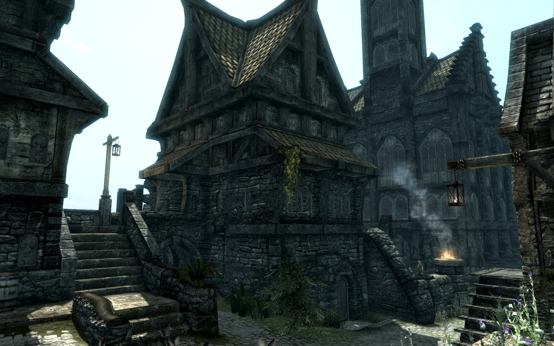 Proudspire Manor Solitude Skyrim Mod Breathes New Life Into The Games Cities