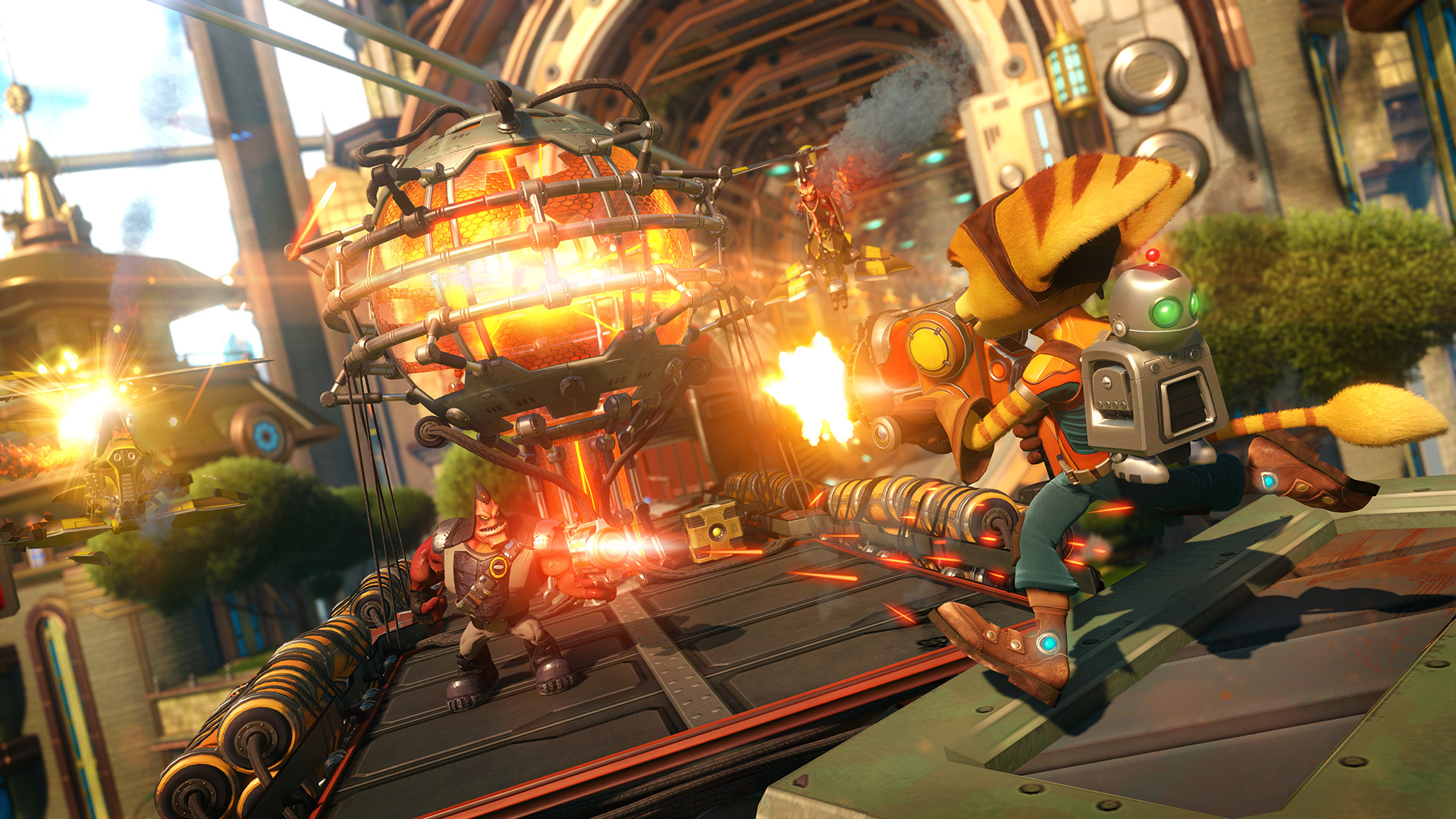 RCPS4 1 met train Ratchet & Clank Is A Love Letter To A Treasured Franchise