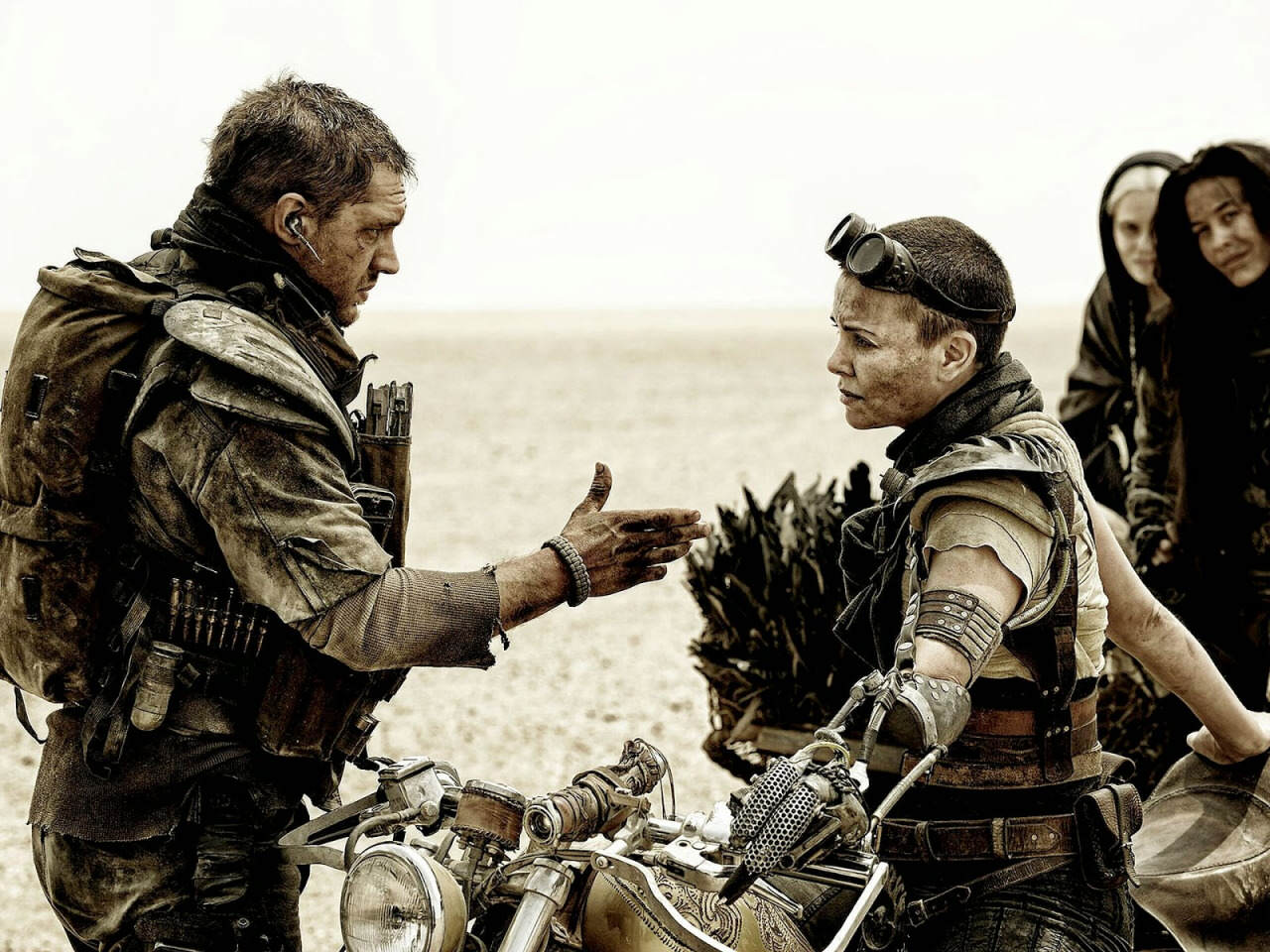 Ss mad max fury road 144 Charlize Theron Says She Didnt Get Along With Tom Hardy While Filming Mad Max