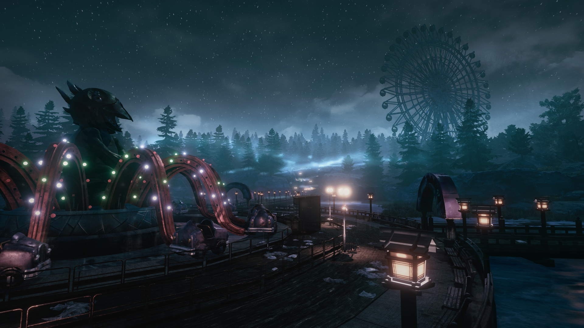 The Park Screenshot 2 3240.0 Terrifying Horror Game The Park Gets PS4/Xbox One Release Date