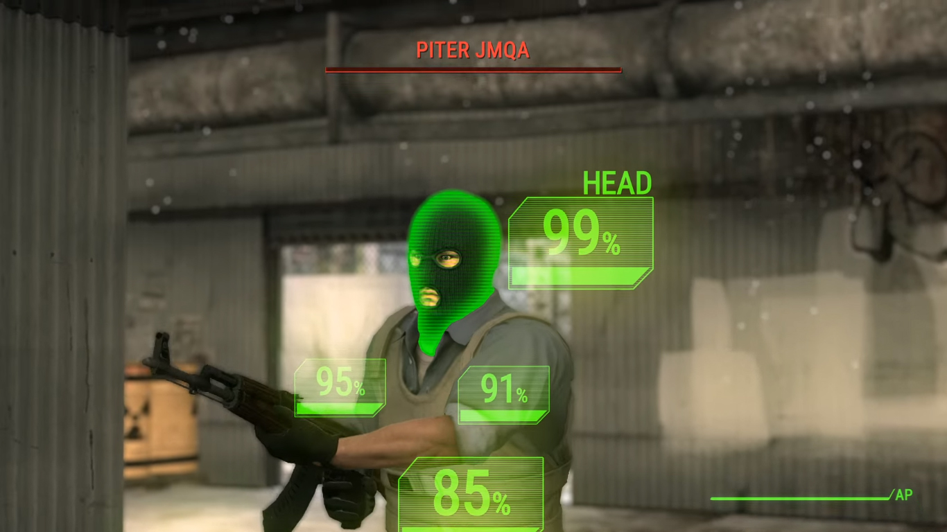 Untitled 1 2 Fallout And Counter Strike Collide In This Incredible Video