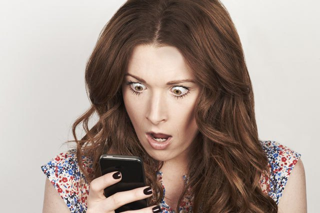 Scientists Accidentally Figure Out How To Make Phone Batteries Last Forever WOMAN LOOKING SHOCKED AT MO