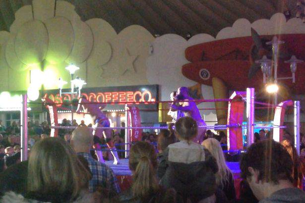 butlin1 People Arent Happy About Butlins Racist Wrestling Extravaganza