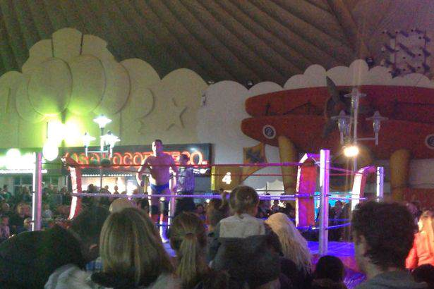 butlin2 People Arent Happy About Butlins Racist Wrestling Extravaganza
